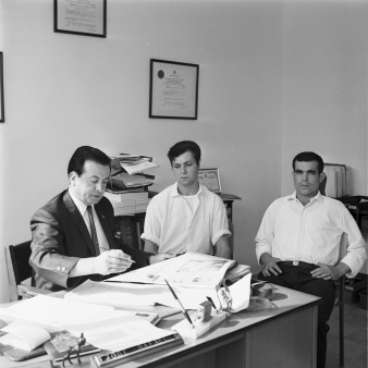 José Rafael. Photo by Jack Judges, July 24, 1967. Clara Thomas Archives & Special Collections, York University, Toronto Telegram fonds, F0433, ASC08252.